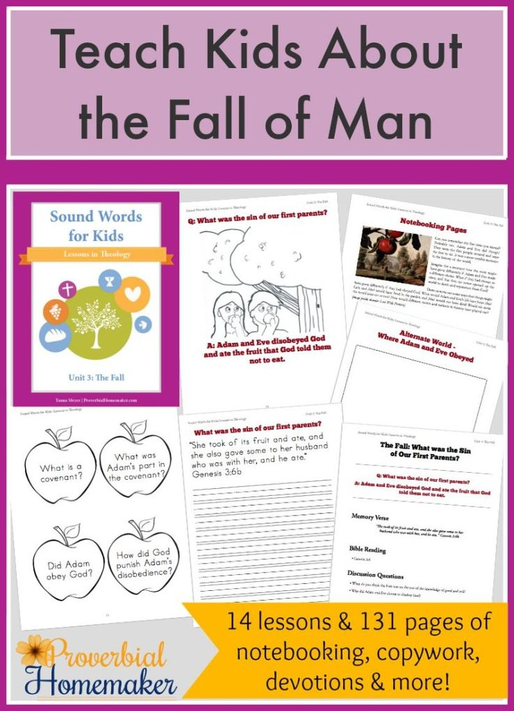 an analysis of the fall of man The fall (french: la chute) is a in secular terms, the fall of man in the garden of eden the fall explores themes of innocence, imprisonment, non-existence, and.