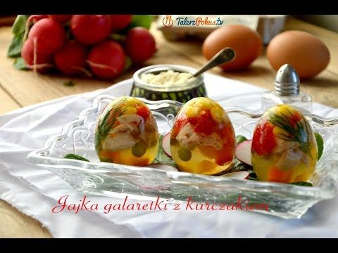 Jajka galaretki z kurczakiem - TalerzPokus.tv - YouTube