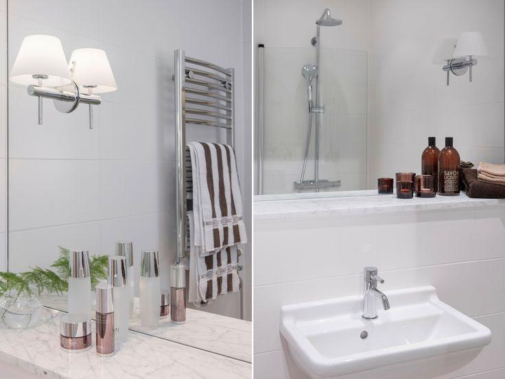 Bathroom  Malmhattan, Malmö  Credit: @homedoubler   #bathroom #bathroominspo #remodel #remodeling #homemakeover #makeover #malmhattan #malmö #malmo #badrum #badrumsinspo #badrumsrenovering #badrumsinspiration #homedoubler