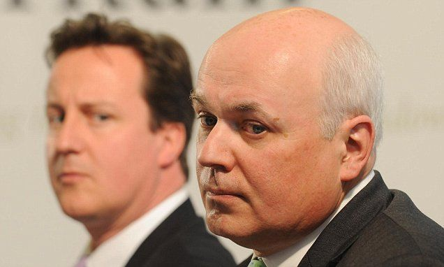 'Contempt and loathing'Now he knows how the rest of us feel. ANDREW PIERCE on what spark Iain Duncan Smith's seismic resignation