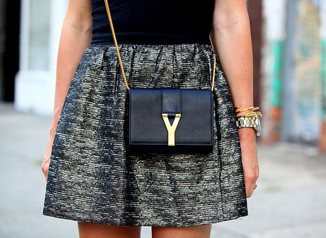 YSL Mini Y Ligne Pochette Crossbody Bag | Wants it | Pinterest ...