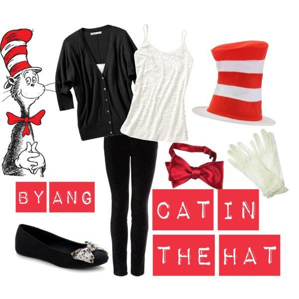 Cat in the Hat Costume by Ang.. my outfitfor Ali's baby shower :) @LynnBonham should wear a similar outfit too!