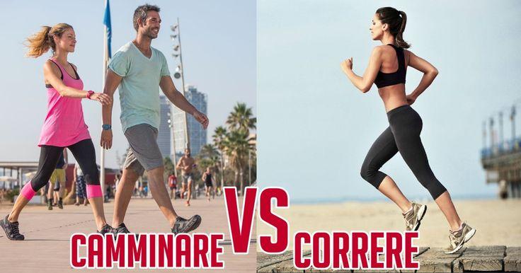 Meglio correre o camminare? Cosa fa dimagrire di più? Cosa elimina la cellulite? Quale delle due attività porta più benefici alla salute?