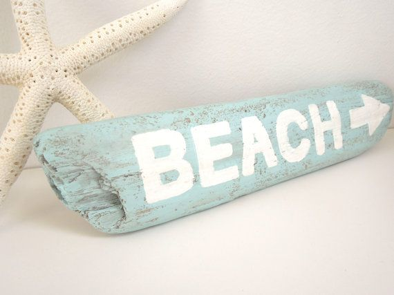 Driftwood Sign, Hand-painted Driftwood Sign, Beach Sign, Nautical, Beach and Lake House Decor