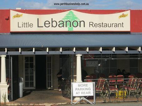 Little Lebanon Restaurant in Main St Osborne Park.