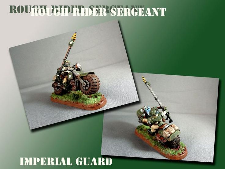 Cadians, Conversion, Imperial Guard, Rough Riders, Warhammer 40,000
