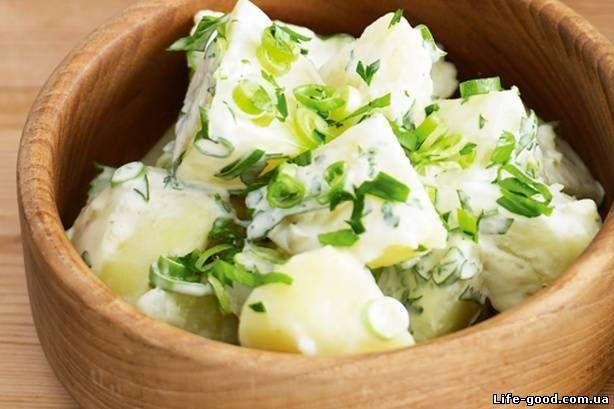 Старомодный картофельный салат