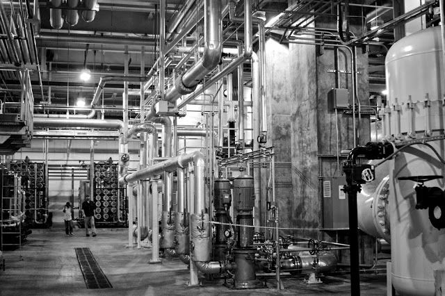 BWL REO Town Station and Cogeneration Plant, Lansing Michigan. Tammy Sue Allen Photography.