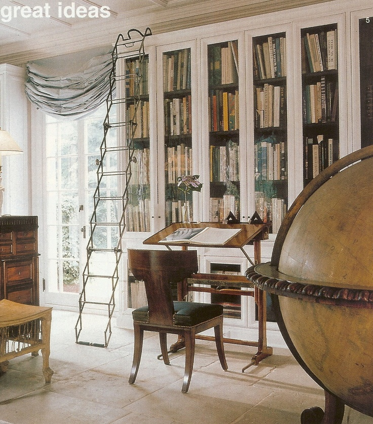 30 Classic Home Library Design Ideas Imposing Style: 107 Best Images About Beautiful Interiors