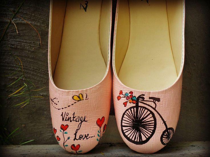 vintage love ballerina