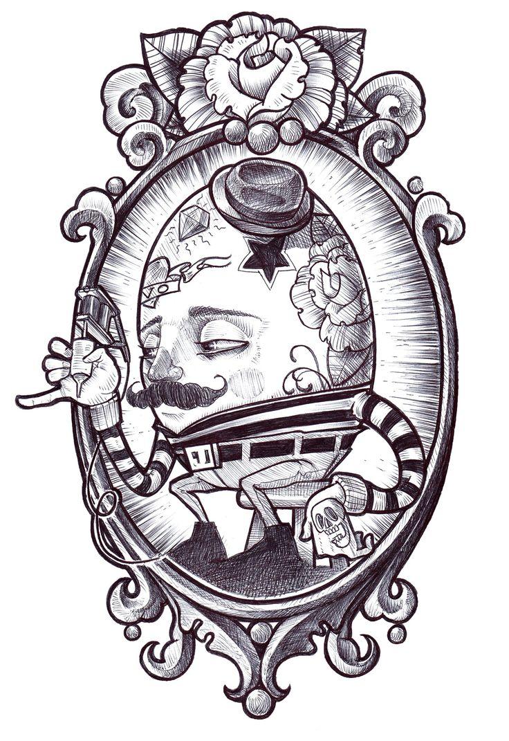 Humpty Dumpty tattooist