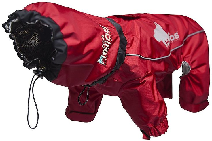 Your fearless four-legged friend will rule the natural elements when he dons the Dog Helios Weather King Ultimate Full Bodied Dog Jacket. This premiere, premium-quality all-weather jacket is lined with soft fleece that features Touchdog's exclusive Blackshark Heat-Retention Technology–an innovative fabric that absorbs and reflects your dog's own body heat to generate additional warmth and insulation from the frigid elements; Blackshark is also lightweight; water, wind and snow-proof…