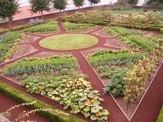17 best images about vegetable gardens french potager on for Jardin potager