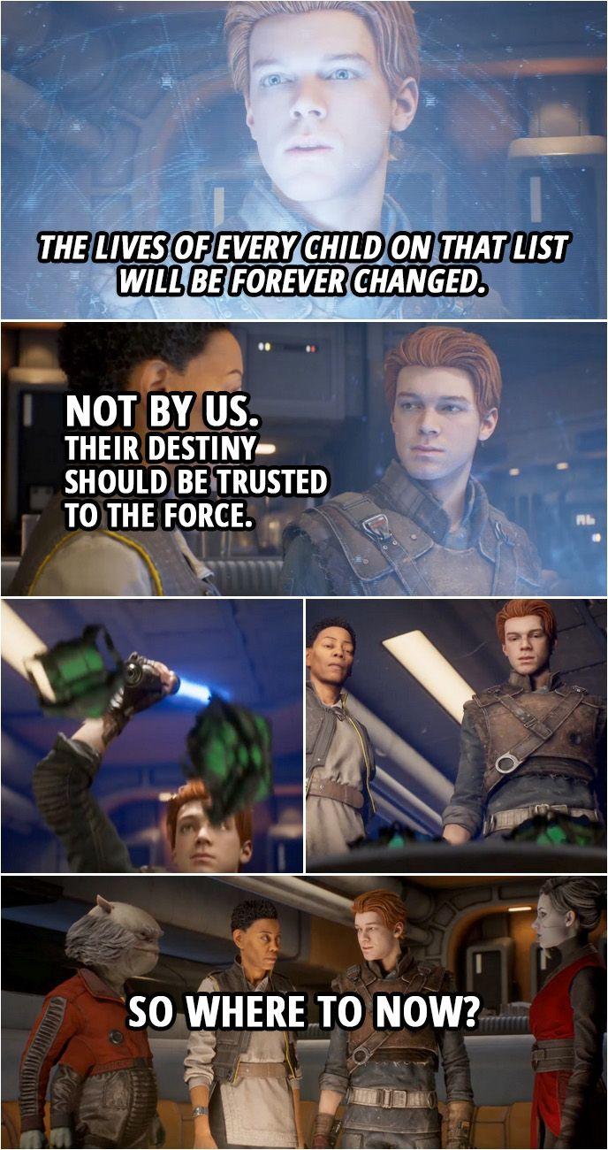 40 Best Star Wars Jedi Fallen Order Quotes Scattered Quotes Star Wars Jedi Star Wars Quotes Star Wars Fallen Order