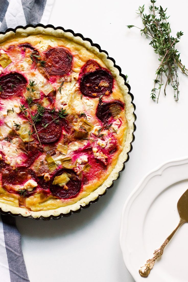 Beet And Feta Tart Not Your Standard Irresistibly