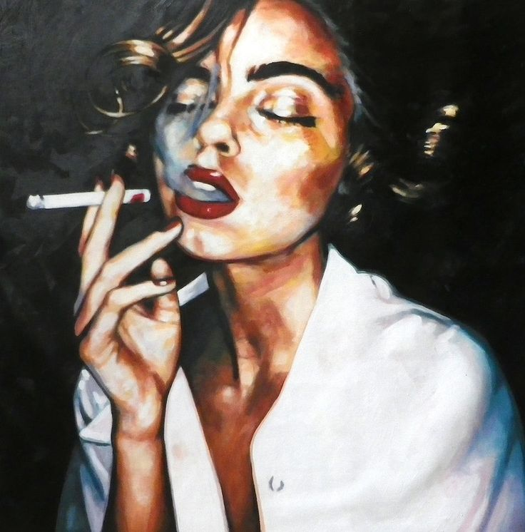 Thomas Saliot   Night Smoke Close Up