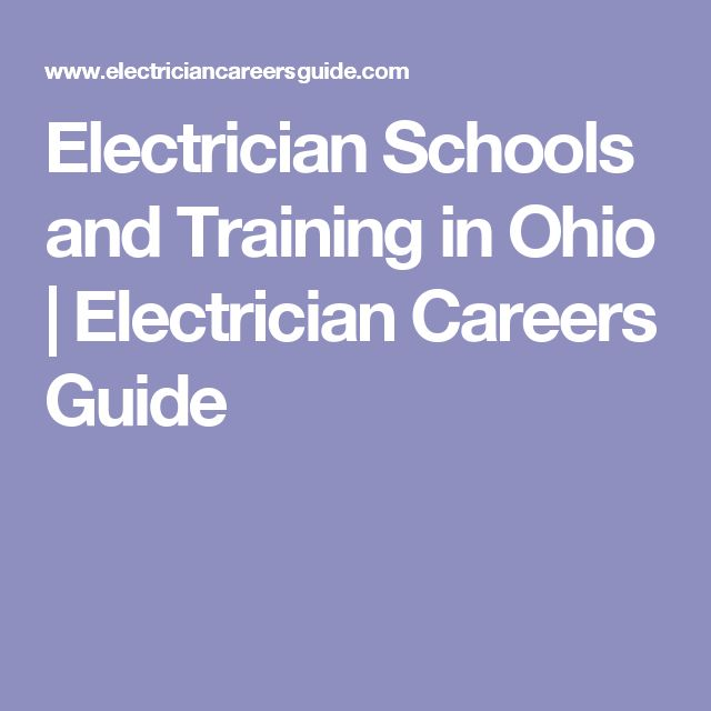 Electrician Schools and Training in Ohio | Electrician Careers Guide