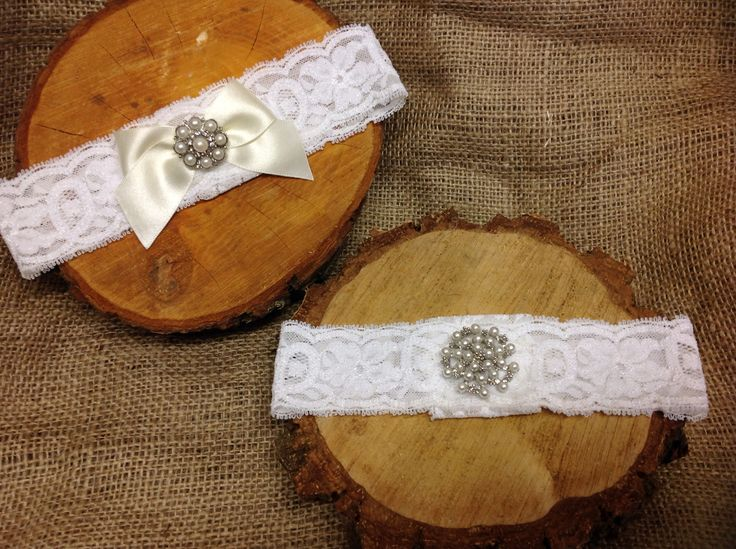 Bespoke made to measure stretch lace garters from Lilly Dilly's  #wedding #garter #lace #vintage #Lilly Dilly's #bespoke #luxury #handcrafted #bride #pearl #diamante #ribbon #bow