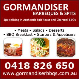 Adelaide spit roast barbecues catering from Gormandiser the best among bbq caterers...Call 0418 826 650