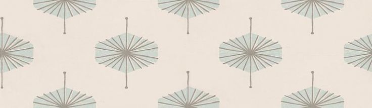 Solitaire (W524/06) - Villa Nova Wallpapers - Whimsical High Society prints of geometric shaped motifs - showing in duck egg blue with silver highlights on a creamy white background. Other colour ways available. Please request a sample for true colour match. Paste-the-wall product.