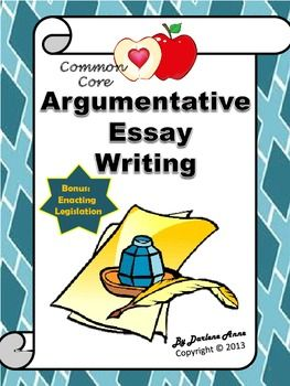 argumentative essay simplified Swbat construct an argumentative essay that addresses the question are schools obsolete big idea students use their own experience as evidence to support their position on the relevance of their school experience.