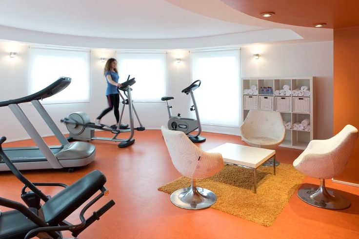 Salle de fitness de l'hôtel Ibis #Luxembourg aéroport http://www.hotel-ibis-luxembourg.com/
