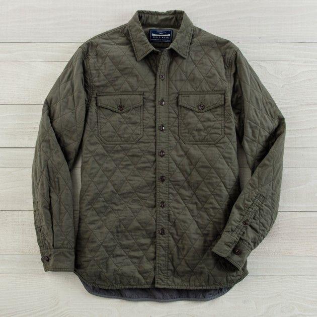 Men's Thompson Twill Shirt Jacket | Guideboat Company