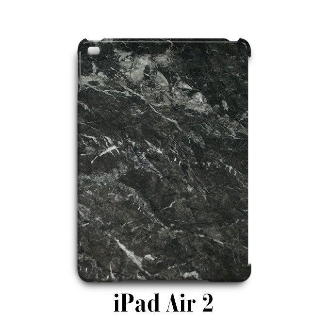 Grey Dark Marble iPad Air 2 Case Cover