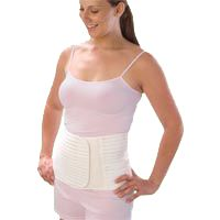 Scott Specialties Loving Comfort Postpartum Maternity Support Belt provides gentle abdominal support after delivery, helping you return to your regular activities, and wardrobe, sooner. Ladies delivering C-Section find its firm but gentle support especially helpful and comforting as they heal. It is made of whisper soft elastic and it is latex free.
