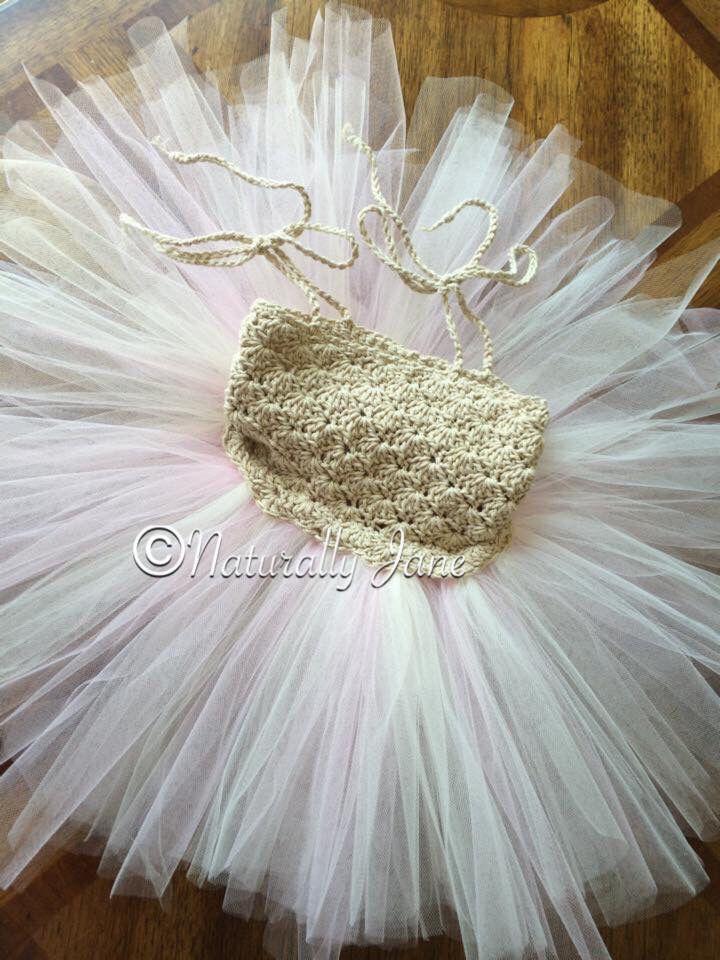 Crochet tutu dress.  Perfect for a summer photo shoot.