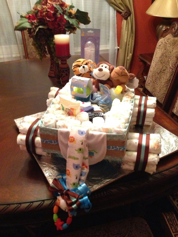 My first wagon diaper... It is so easy to make it!... Welcome to baby Alexander Bustamante