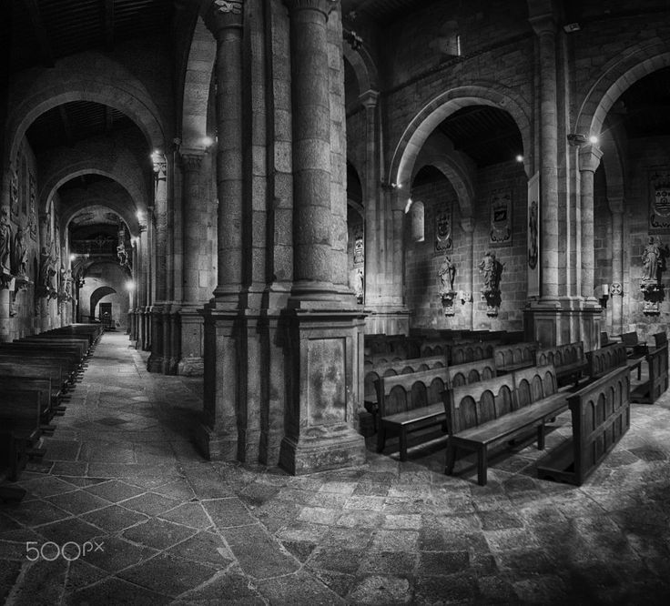 Cathedral of Braga, Braga, Portugal by Edgar Tossijn on 500px