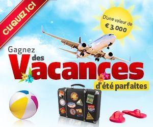 Gagner-Des-Voyages.com: gagnez des vacances d'été parfaites (valeur 3000 €)