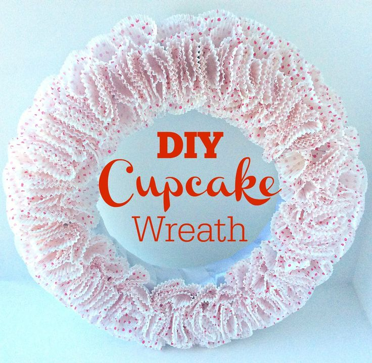 Lou Lou Girls : DIY Cupcake Wreath