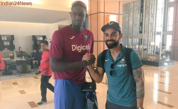 Indian cricket team lands in West Indies, without coach