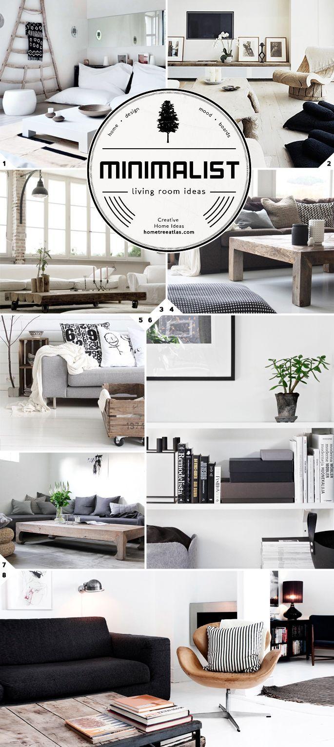 Stress Free: Minimalist living room ideas and designs