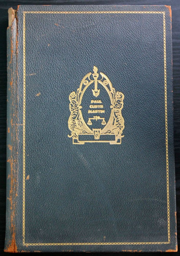 Paul Curtis Martin Memorabilia 1944 HB Antique Things Worthy of Remembrance More