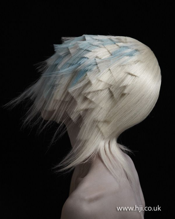 Adam Szabo and Mai Ha Avant Garde Hairdresser of the Year Finalist - Hairdressers Journal