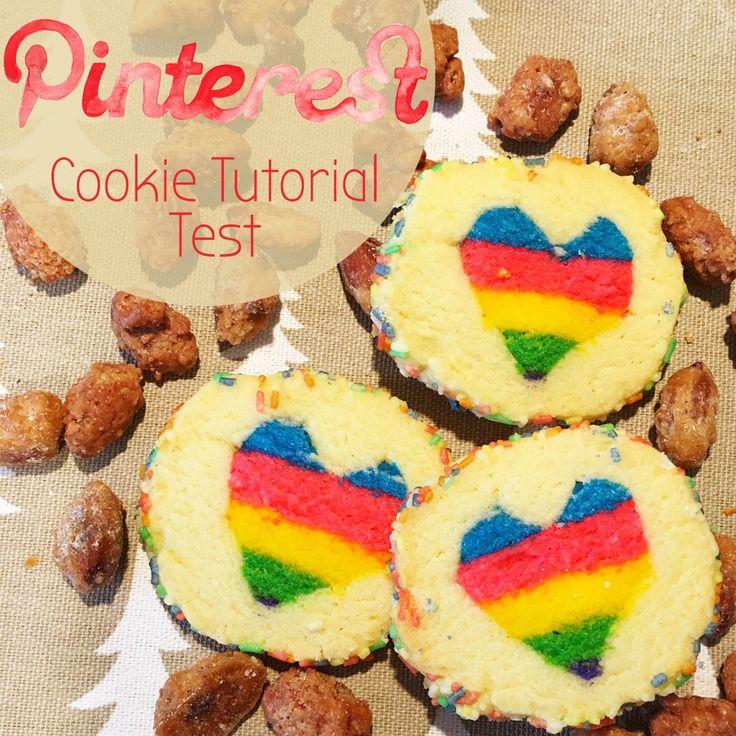 Pinterest Regenbogen Herze Kekse Tutorial Test