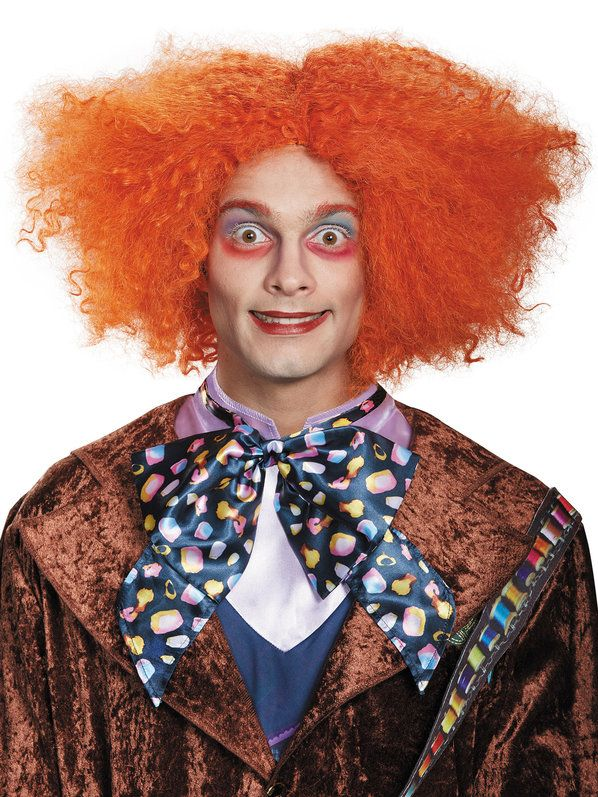 Check out Alice Through The Looking Glass Adult Mad Hatter Deluxe Wig - Wigs from Wholesale Halloween Costumes