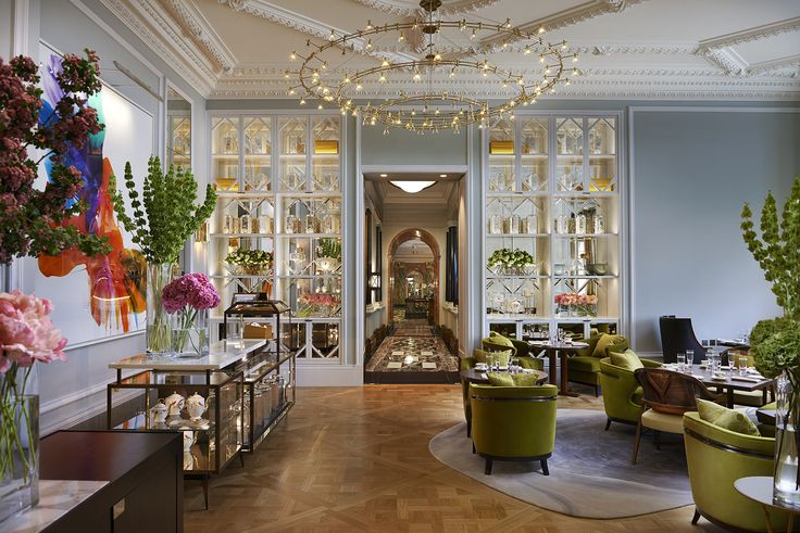 Light + Design - Mandarin Oriental, The Rosebery. Afternoon Tea