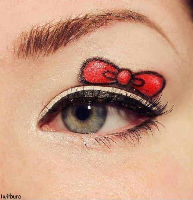 mouse eyes makeup