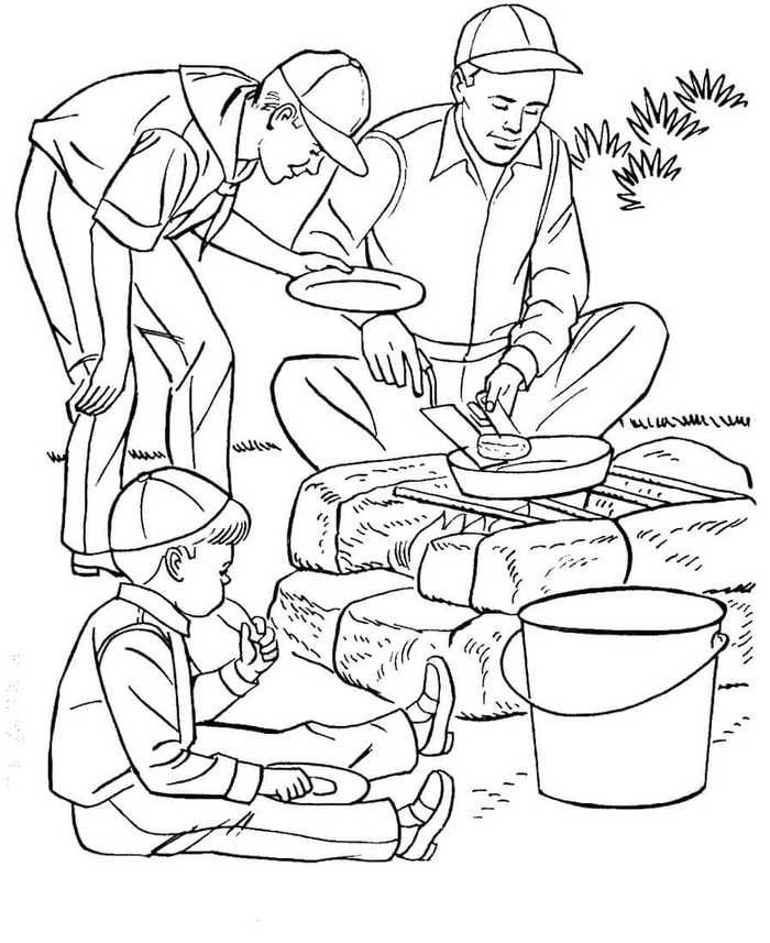 Free Camping Coloring Pages Printable Free Coloring Sheets Fathers Day Coloring Page Camping Coloring Pages Cool Coloring Pages