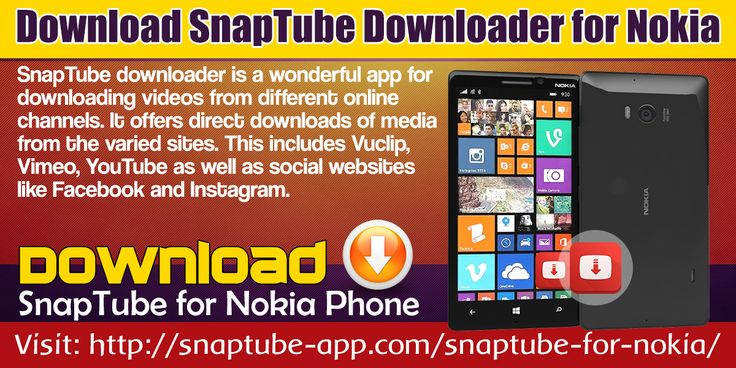 SnapTube downloader is a wonderful app for downloading videos from different online channels. It offers direct downloads of media from the varied sites. This includes Vuclip, Vimeo, YouTube as well as social websites like Facebook and Instagram.