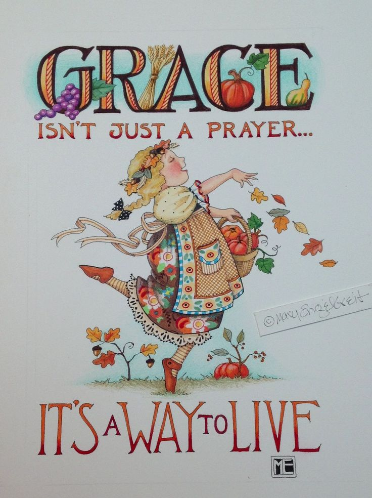 GRACE isn't just a prayer - It's a way to live!
