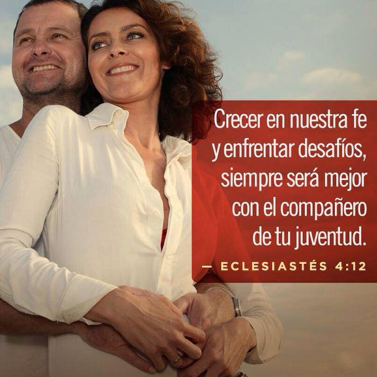 Crecer en nuestra fe y enfrentar desafíos, siempre será mejor con el compañero de la juventud