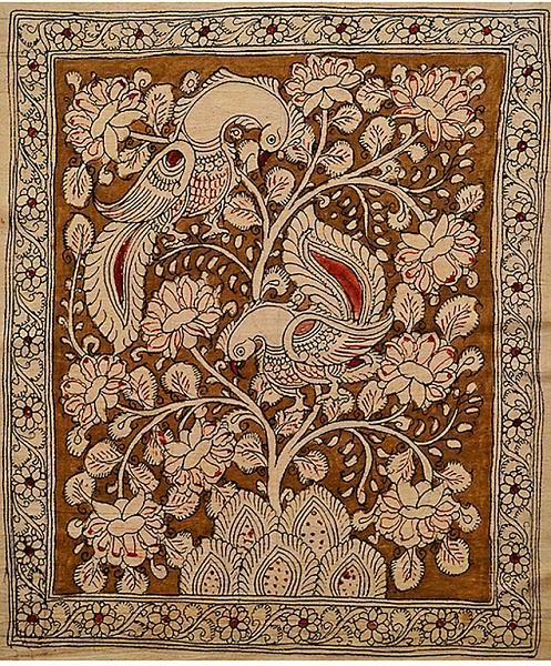 Indian Painting Styles...Kalamkari Paintings (Andhra Pradesh)-tree-of-life1-2-.jpg