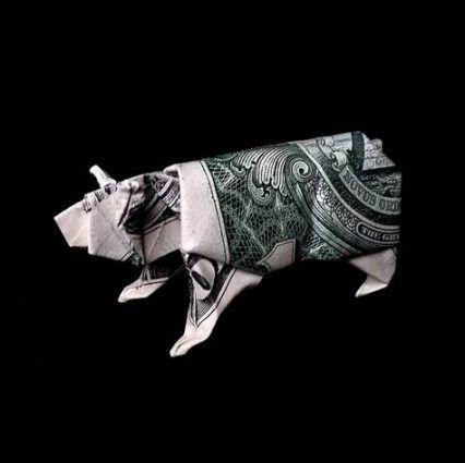 58 Best Ideas For Origami Decoration Dollar Bills