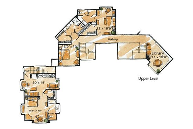Deer Creek Lodge   SL-1791 7197 Sq. Ft, 6 Bedroom(s), 7 Bath(s)    Upper Level - Second Floor    original.gif (640×428)