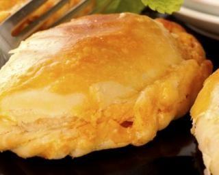 Chaussons à la farce végétarienne (au tofu)
